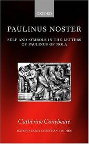 Cover of: Paulinus Noster by Catherine Conybeare