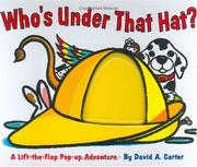 Cover of: Who's under that hat? | Sarah Weeks