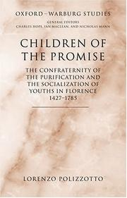 Cover of: Children of the promise by Lorenzo Polizzotto