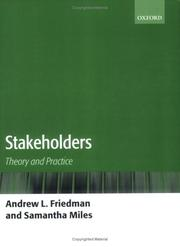 Cover of: Stakeholders | Andrew L. Friedman