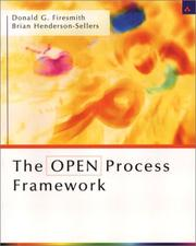 Cover of: The OPEN Process Framework | Brian Henderson-Sellers