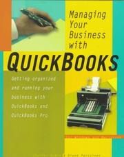 Cover of: Managing your business with QuickBooks by Charles Rubin