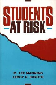 Cover of: Students at risk by M. Lee Manning