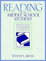Cover of: Reading and the middle school student by Judith L. Irvin