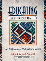 Cover of: Educating for Diversity | Carl A. Grant