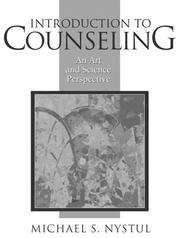 Cover of: Introduction to counseling by Michael S. Nystul