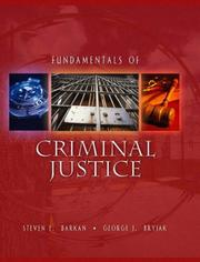 Cover of: Fundamentals of Criminal Justice by Steven E. Barkan
