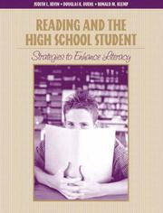 Cover of: Reading and the high school student | Judith L. Irvin