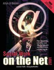 Cover of: Social work on the net | Joanne Yaffe