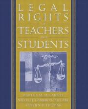 Cover of: Legal Rights of Teachers and Students | Martha M. McCarthy