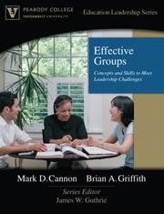 Cover of: Effective Groups by James W. Guthrie