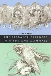 Cover of: Antipredator defenses in birds and mammals by T. M. Caro