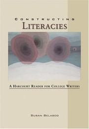 Cover of: Constructing literacies | Susan Belasco