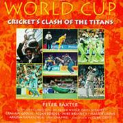 Cover of: World Cup (Cricket World Cup) | P. Baxter