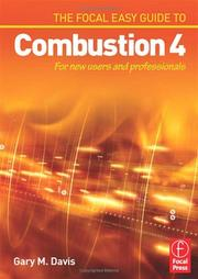 Cover of: The Focal Easy Guide to Combustion 4 | Gary M Davis