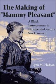 "Cover of: The Making of ""Mammy Pleasant"" by Lynn M. Hudson"