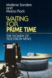 Cover of: Waiting for prime time by Marlene Sanders