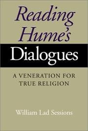 Cover of: Reading Hume's Dialogues | William Lad Sessions
