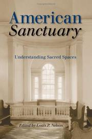 Cover of: American Sanctuary | Louis P. Nelson
