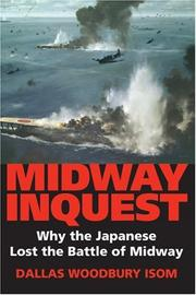 Cover of: Midway inquest | Dallas Woodbury Isom