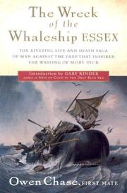 Cover of: The wreck of the whaleship Essex | Owen Chase