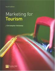 Cover of: Marketing for tourism by J. Christopher Holloway