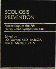 Cover of: Scoliosis Prevention | J. O. Warner