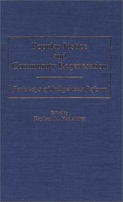 Cover of: Popular Justice and Community Regeneration by Kayleen M. Hazlehurst