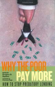 Cover of: Why the Poor Pay More by Gregory D. Squires
