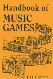 Cover of: Handbook of Music Games by G. Storms