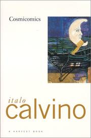 Cover of: Cosmicomics by Italo Calvino