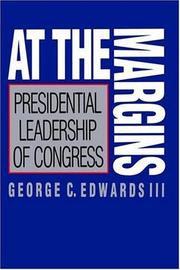 Cover of: At the Margins | George C. Edwards III