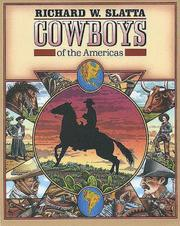 Cover of: Cowboys of the Americas | Richard W. Slatta