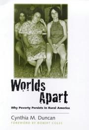 Cover of: Worlds apart | Cynthia M. Duncan