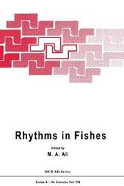 Cover of: Rhythms in Fishes | M.A. Ali