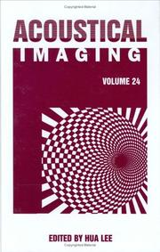 Cover of: Acoustical Imaging (Volume 24) | Hua Lee
