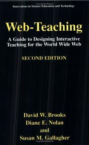 Cover of: Web-teaching by David W. Brooks