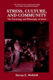 Cover of: Stress, Culture, and Community | S.E. Hobfoll