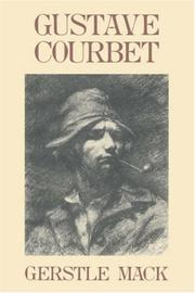 Cover of: Gustave Courbet | Gerstle Mack