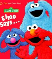 Cover of: Elmo Says by Golden Books