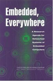 Cover of: Embedded, Everywhere | National Research Council.