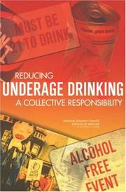 Cover of: Reducing Underage Drinking | National Research Council.