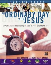 Cover of: An Ordinary Day with Jesus (Leader's Guide) | John Ortberg