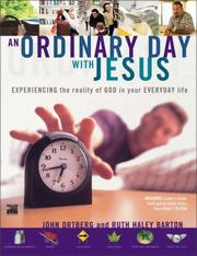 Cover of: An Ordinary Day with Jesus (Video Curriculum) | John Ortberg