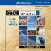 Cover of: Old Testament Challenge Volume 1: Creating a New Community by John Ortberg