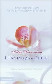 Cover of: Longing for a Child | Kathe Wunnenberg
