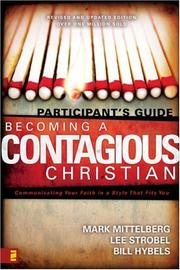 Cover of: Becoming a Contagious Christian by Lee Strobel