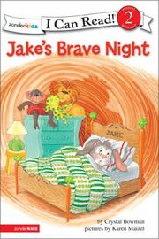 Cover of: Jake's brave night | Crystal Bowman