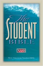 Cover of: The student Bible | Philip Yancey, Tim Stafford
