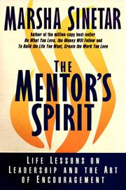 Cover of: The Mentor's Spirit by Marsha Sinetar
